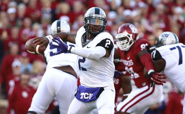 Gary Patterson says Trevone Boykin is still his No. 1 quarterback. (USATSI)