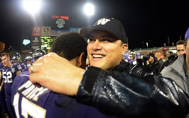 Marques Tuiasosopo coached Keith Price and Washington to a win over BYU. (USATSI)