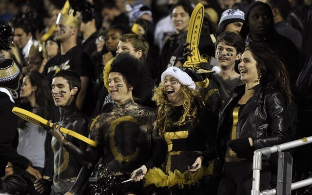 We hope UCF fans are up-to-date on their heart medications. (USATSI)