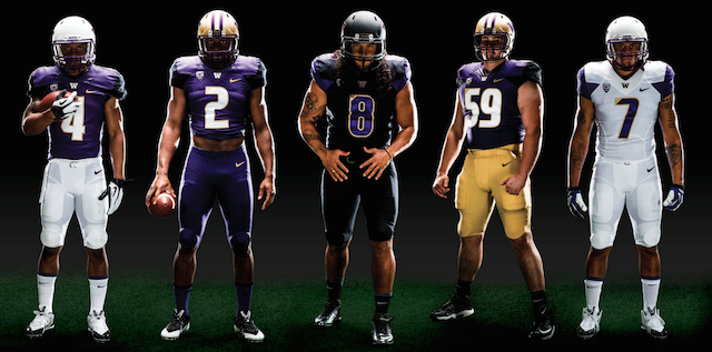 Washington uniform combinations