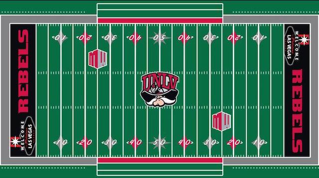 LOOK: UNLV's new football field design has a distinctly Vegas feel - CBSSports.com