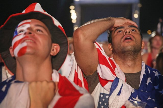 Buckle in, US fans. Thanks to that last-second Portugal goal, it'll be a bumpy ride. (Getty Images)