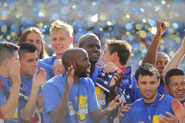 The U.S. deserved to celebrate its gold Cup victory after showing off its newfound depth. (USATSI)