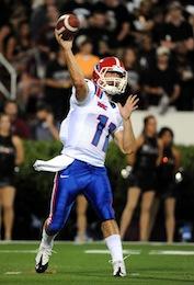 Former Louisiana Tech quarterback Nick Isham , reported to be
