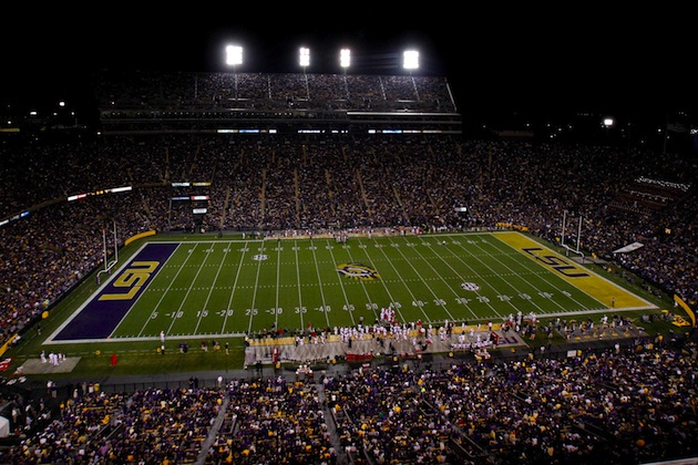 How soon will LSU fans enjoy beer in Tiger Stadium? (USATSI)