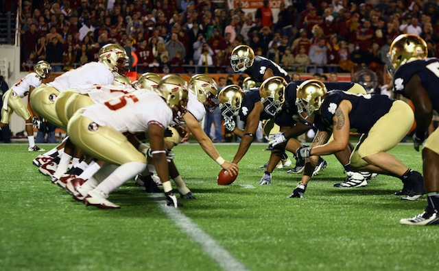 Florida State will host Notre Dame in 2014, the Fighting Irish's first year of partial ACC membership. (USATSI)
