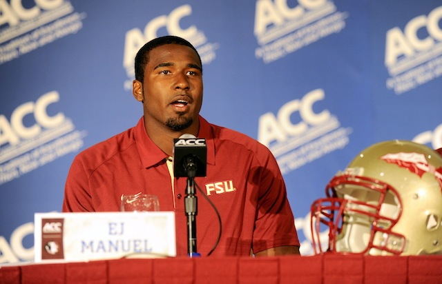 Former Florida State quarterback EJ Manuel shares his experience from the NFL Combine (USATSI)