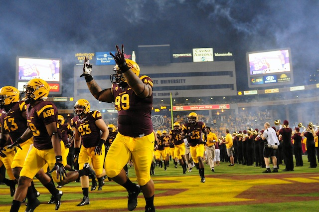 Arizona State may have to replace Notre Dame on their 2014 schedule. (USATSI)