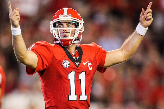 Aaron Murray and Georgia will open the year with a bang at Clemson. (USATSI)