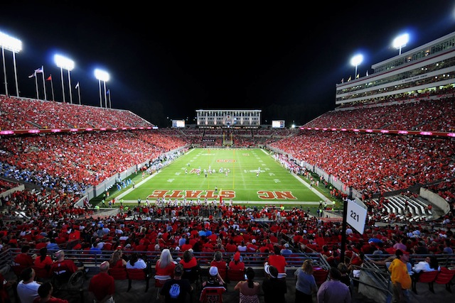 Dave Doeren will get used to Carter-Finley Stadium with eight home games in 2013. (USATSI)