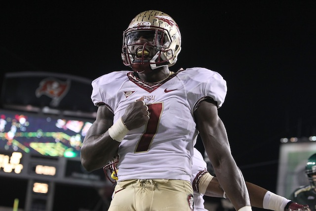 Florida State linebacker Christian Jones is one of six Seminoles on the preseason All-ACC team. (USATSI)