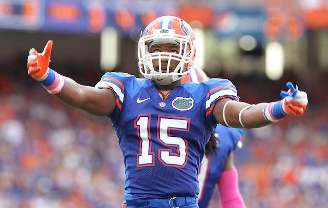 Florida CB Loucheiz Purifoy will play more WR in the fall. (USATSI)