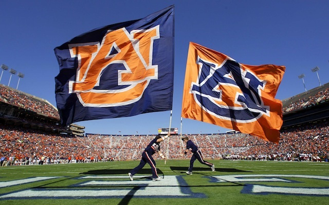 Auburn set a new A-Day record with 83,041 fans at the spring game in Jordan-Hare Stadium. (USATSI)