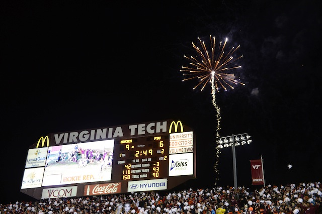For the first time since 2001, Lane Stadium will not host a Thursday night game. (USATSI)