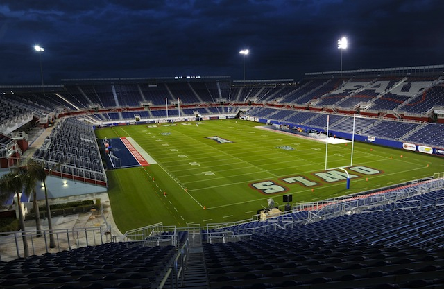 FAU Stadium will no longer be named GEO Group Stadium. (USATSI)