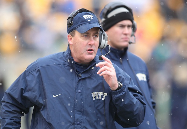 Paul Chryst and Pitt cite small crowds and weather issues as reasons against a spring game. (USATSI)