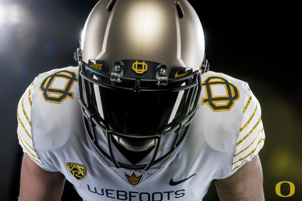the latest 42c98 39244 LOOK: Oregon will wear throwback 'Webfoots' jerseys for ...