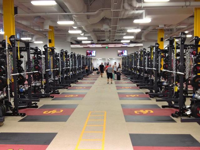 Texas Longhorns New Weight Room