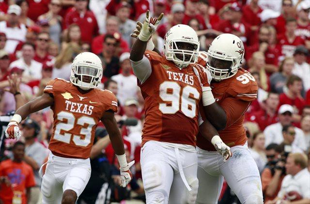 Chris Whaley and Texas stunned Oklahoma. (USATSI)