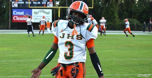 FSU freshman Levonte Whitfield is college football's fastest man.  (247sports)