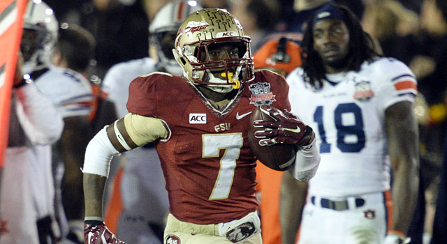 Levonte Whitfield's kickoff return helped Florida State get back into the game against Auburn. (USATSI)