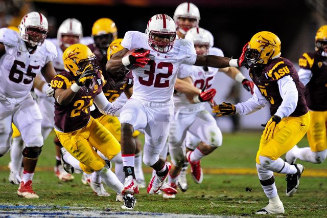 Anthony Wilkerson and Stsnford dominated arizona State from the start. (USATSI)
