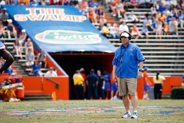 Will Muschamp doesn't mind LSU continuing its visits to the Swamp. (USATSI)