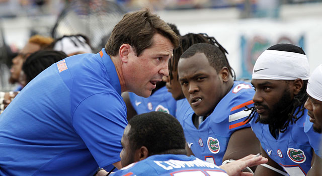 Will Muschamp and Florida are on the verge of a losing season. (USATSI)
