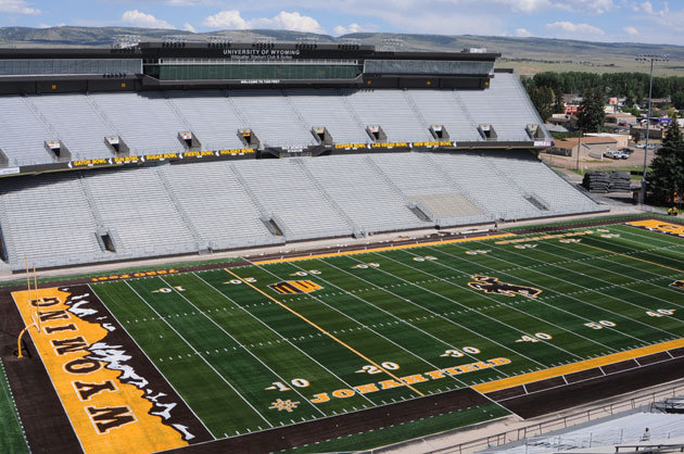 Photos Wyoming S New Field Design Cbssports Com