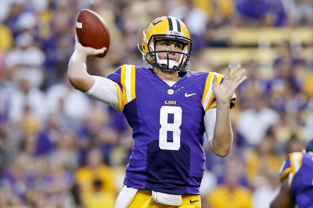 Zach Mettenberger will make his return to Athens on CBS. (USATSI)