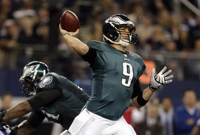 The Eagles cut DeSean Jackson on Friday, and Nick Foles will suffer without his No. 1 receiver. (USATSI)