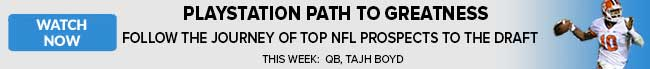 Playstation Path to Greatness - Follow journey of top NFL Prospects to the NFL Draft - Tajh Boyd, Jake Mathews and Louis Nix