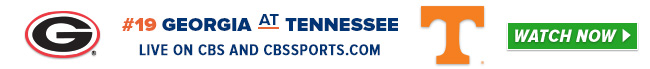 #19 Georgia at Tennessee - Sat, Oct 3 - 3:30 PM ET