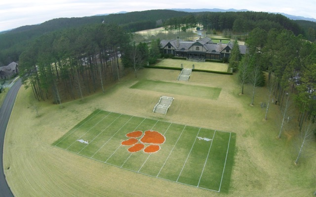 miniature drone with Dabo Swinneys Home Golf Course Builds Mini Clemson Football Field on ce bcsharp Patch furthermore Dabo Swinneys Home Golf Course Builds Mini Clemson Football Field moreover The Worlds Smallest Camera Drone Has A Price To Match Its Size Deals also Watch moreover Run Small Brushed Motor For Mini Quadcopter.