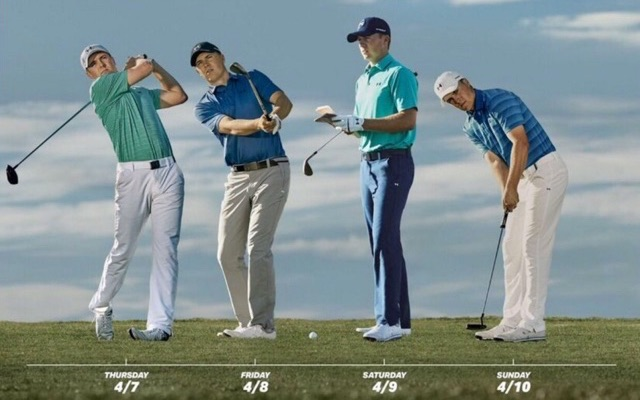 Jordan Spieth Outfits 2021 Masters