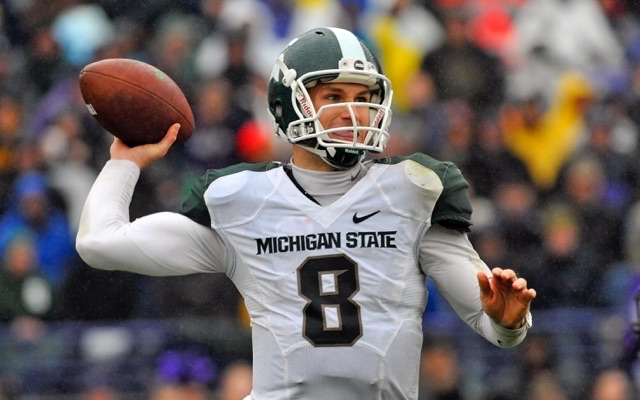 Image result for kirk cousins michigan state