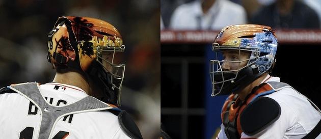 John Buck Says Hes Not Flashy Just His Helmet Cbssportscom