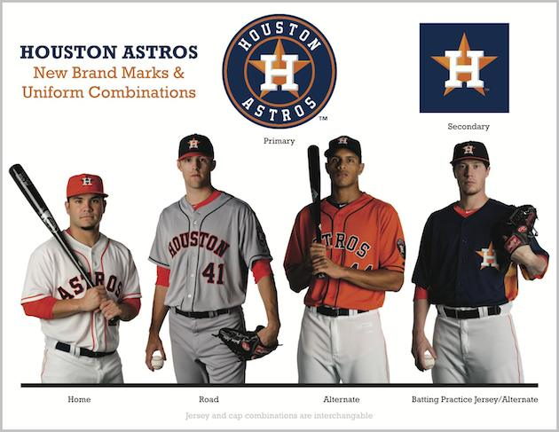 795d7101190 Photos  Astros unveil new uniforms