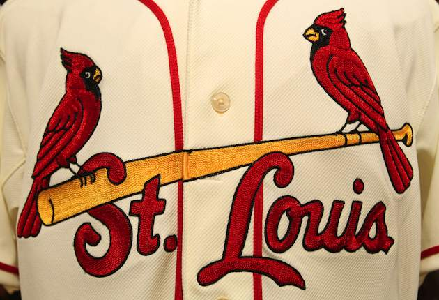 3ce59619f8a2 The Cardinals are adding a cream-colored alternate uniform to wear for  Saturday home games.