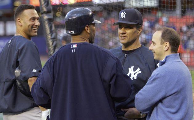 Jeter, Torre, Cashman