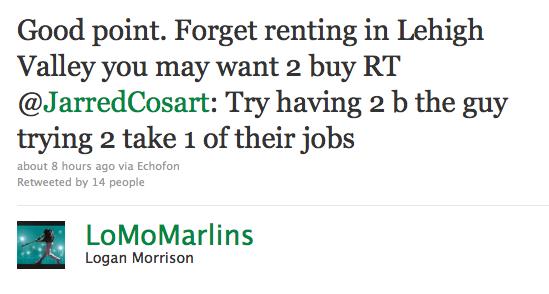 Cosart tweet