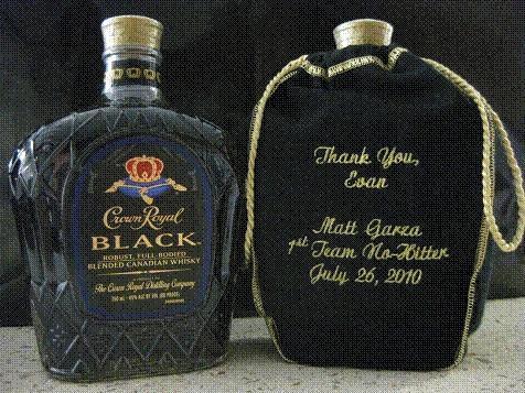 Matt Garza's whisky