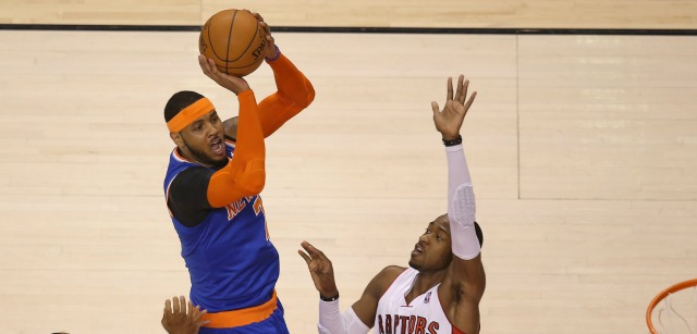 Carmelo Anthony says it's not about the money. Do you believe him?