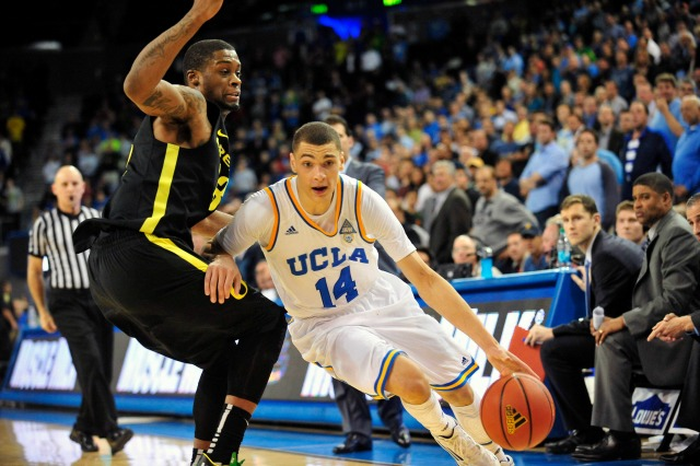 Zach LaVine averaged 9.4 points and 2.5 rebounds in 24 minutes per game in his lone season with UCLA.