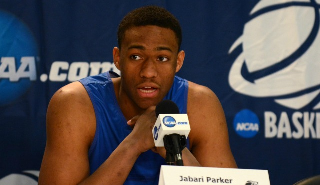 Jabari Parker averaged 19.1 points and 8.7 rebounds per game in his lone season at Duke.