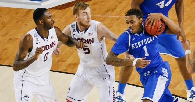 James Young averaged 14.3 points and 4.3 rebounds per game in in his lone season at Kentucky.