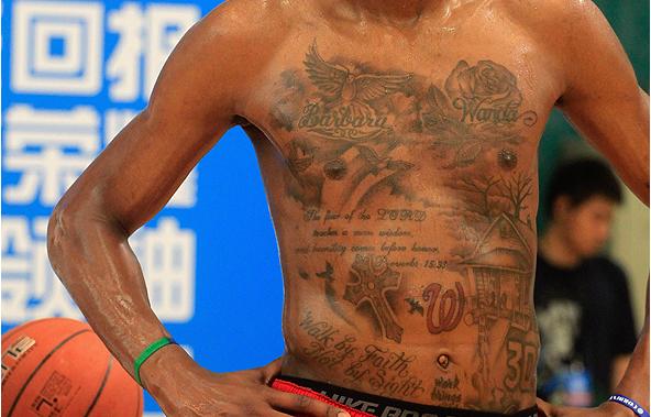 Kevin Durant Tattoo