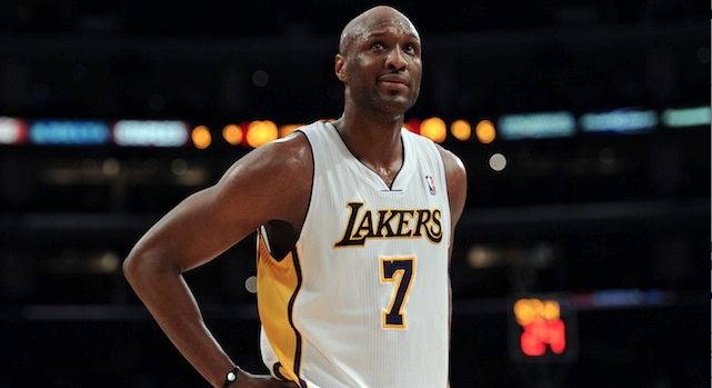 Lamar Odom could be back in the yellow and purple.     (USATSI)