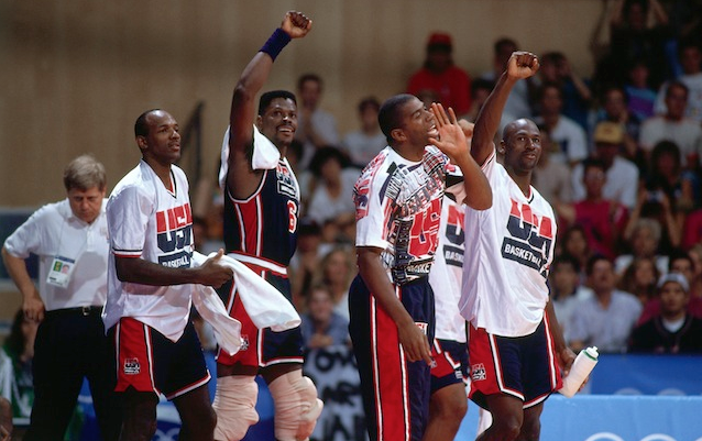 info for cbe6d d8fff Magic Johnson isn t giving the 2012 installment of Team USA a chance to  beat 1992 s Dream Team. But he is giving a few 2012 players a chance of  making what ...