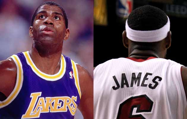 9a7b0323f Excellent article  Lebron James vs Magic Johnson comparison - Message Board  Basketball Forum - InsideHoops